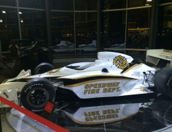Indy car factory tour