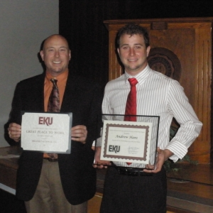 Business student honored by EKU Co-op Office