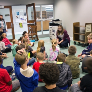 Stanford Elementary fourth graders visit EKU Libraries
