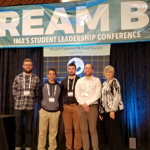 EKU Accounting at IMA Student Leadership Conference in Houston